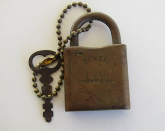 Eureka 1884 Lock & Key