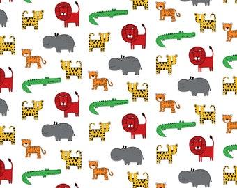 Multi Zoo - Amne Organic Jersey Knit Fabric