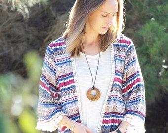 Australian gift - boho wood necklace, australia, gift for her,long boho necklace,wooden pendant,rustic necklace,unique necklace,wood pendant
