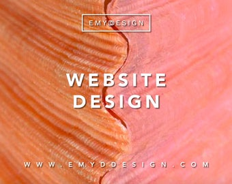 Custom Website Design || Web Design, Custom Web Design, Website Design  || EMYDDESIGN
