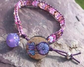 "The Dreamer, A beautiful 7.5"" Bracelet"