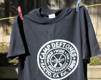 CAMP DEFTONES 1989 T shirt