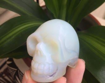 Opalite Crystal Skull (102g)