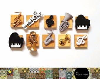 Music Fridge Magnet Set