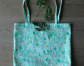 Tote Bag - Greenary confetti