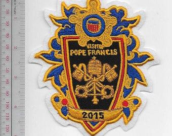 US Secret Service USSS Visit of Pope Francis 2015 Philadelphia, Washington DC & New York City white felt