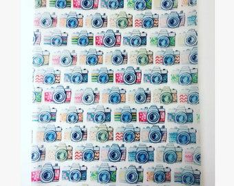 Wanderlust - camera print paper