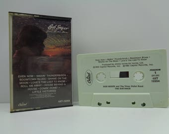 Bob Seger and the Silver Bullet Band the Distance Cassette