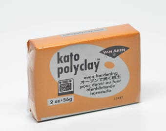 Kato Polyclay Polymer Clay 2 oz/ 56g Sculpey Miniature Supply Gold