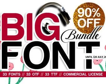 SALE - 90% OFF Font, Big bundle,Calligraphy Font,Digital download,Handwritten font, download,creative modern,calligraphy font,Craft Font,