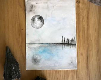 Free Me. Original Watercolor Painting.