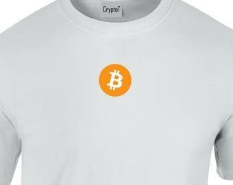 CryptoT Bitcoin BTC Logo Tshirt