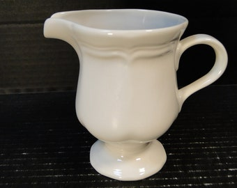Mikasa French Countryside Creamer White F9000 EXCELLENT!