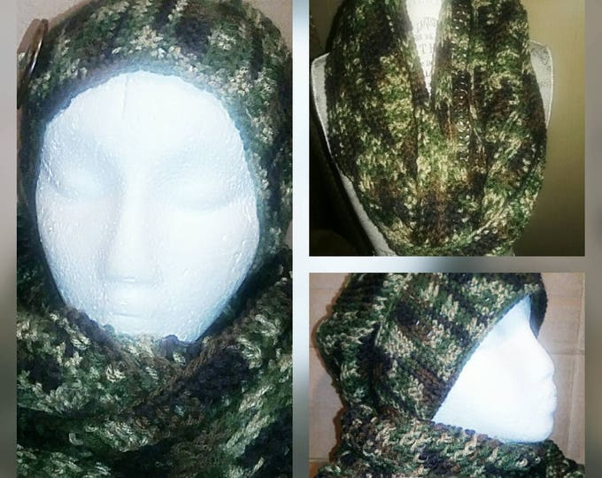 Slouch Beanie and Infinity Scarf Set