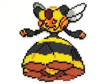 Vespiquen Pokemon Perler Bead Sprite