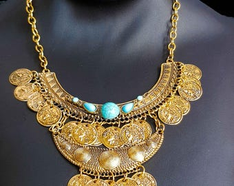 Bohemian Ethnic necklace