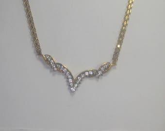 P- 68 Vintage Necklace choker 925 silver