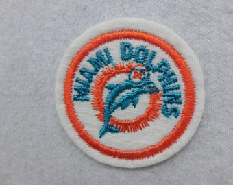 Miami Dolphins Football Sew On Patch