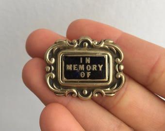 Memento Mori Brooch