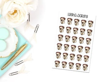 Chore Pug Planner Stickers
