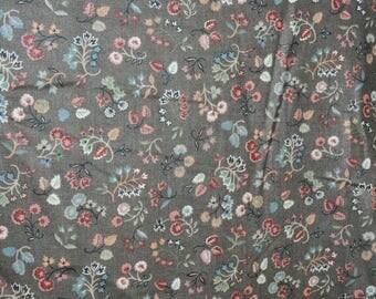 Vintage Atelier Design pure cotton fabric 1984  unused