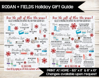 Rodan + Fields Holiday Gift Guide | R+F Product Guide