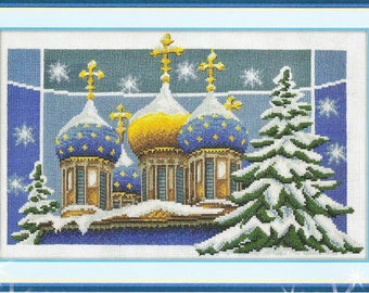 Counted Cross Stitch Kit Christmas art. RK-0238