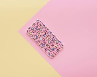 IPhone 7 Plus/8 plus ' geometric vibes ' (silicone) case