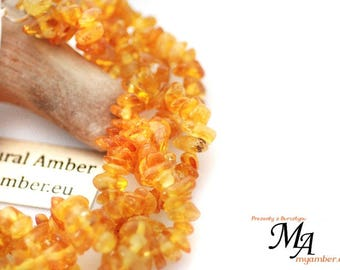 Colours of AMBER Braided Bracelet 13864 + Certificate Natural 19.5 cm