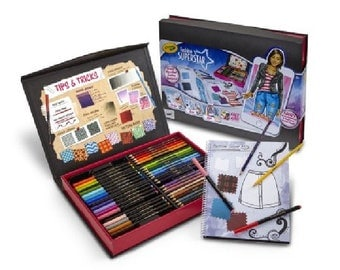 Crayola Fashion Superstar: Virtual Designer Kit for Kids