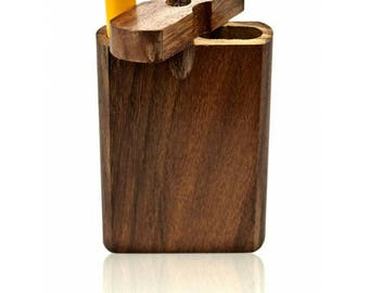 """3"""" Wooden Dugout Pipe With Small Hitter"""