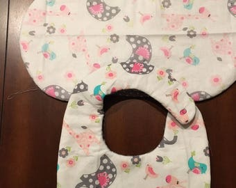Baby Bib and Burp cloth