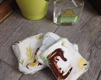 6 pretty wipes/cotton washable pet Savannah