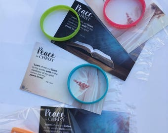 "Ten ""Peace in Christ"" GIFT KITS ~ Young Women/Men 2018 Theme (10) - lds yw/ym"
