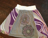 Recycled T Shirt Skirt