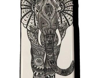 Amy O'Hanlon,Mandala Elephant,Zentangle Elephant,Phone Case,iPhone 7 case,iphone 6S case,iphone 6 Plus case, iphone 5S case, iphone SE case,