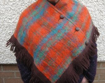 Strathtay Orginal Wool/Mohair Cape/Poncho