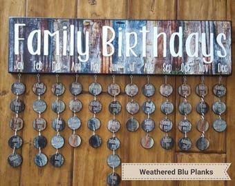 FAMILY BIRTHDAY and Celebration BOARDS