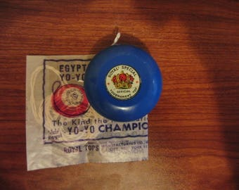 Vintage Royal Special (Custom) Yo Yo And String (Free Shipping)