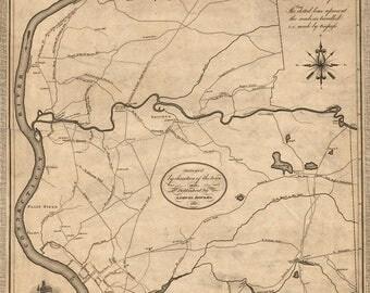 1827 Map of Springfield Massachusetts