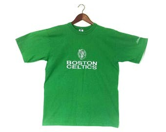 Vintage Boston Celtics NBA Irish tshirt