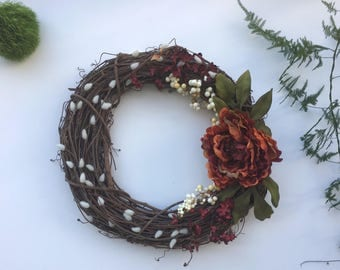 Fall Wreath // Wreath // Fall Decor // Natural Wreath // Christmas Wreath // Spring Wreath
