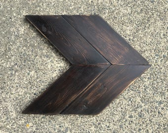 ONE Double Chevron Arrow - Choose Your Direction and Color