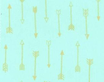 MICHAEL MILLER fabric MC6990-SEAF-D: Arrows Seaf / Cut 50x55 cm