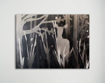 Schilderij - Deer 02