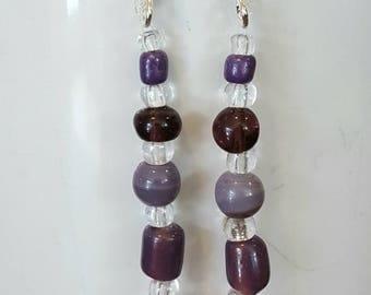 Pretty In Purple Earrings