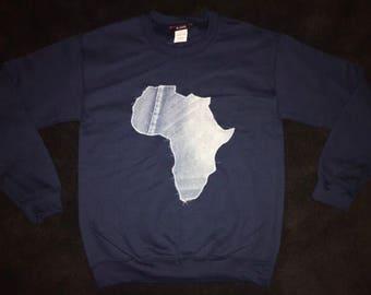 Denim Africa Sweatshirt
