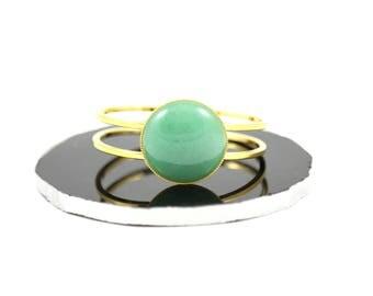 Aventurine Bracelet--Green Aventurine