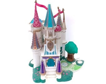 Vintage Trendmasters Castle Disney Beauty & The Beast Polly Pocket Playset Starcastles Original 90s Toys Play Set Classic Movies Kawaii
