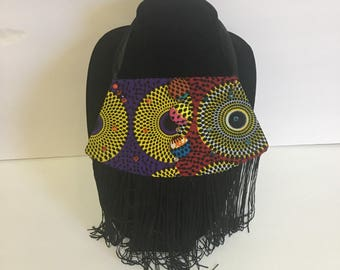 African Print bib